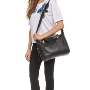 See by Chloé Andrea Cross Body Black Leather Tote